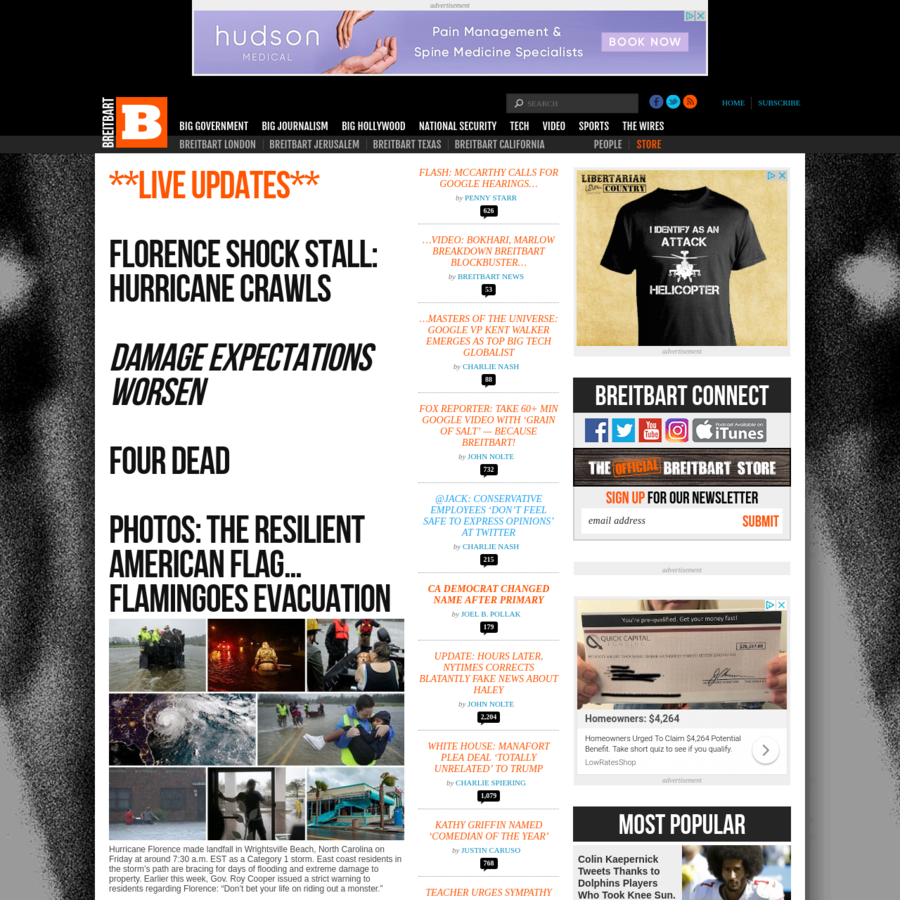 Syndicated news and opinion website providing continuously updated headlines to top news and analysis sources.