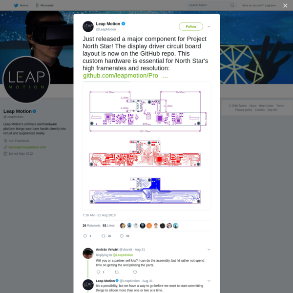 Leap Motion on Twitter