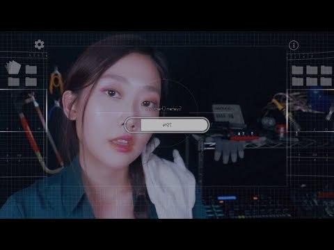 Annual Checkup Robot Mechanic RP ASMR🔧 홈로봇 정기검사 수리공 롤플레이(자막O)