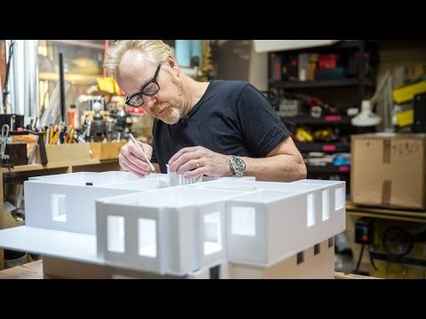 Find a bonus clip from this week's build here: http://www.tested.com/premium/568250-one-day-build-bonus-foamcore-memories/ Today's One Day Build is a homecoming for Adam, in a few ways. Using only one type of material and one cutting tool, Adam builds an architectural scale model of the house he grew up in.