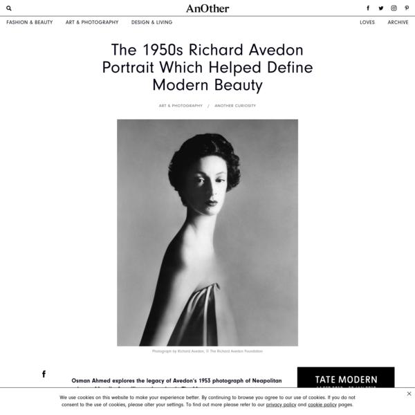 The 1950s Richard Avedon Portrait Which Helped Define Modern Beauty