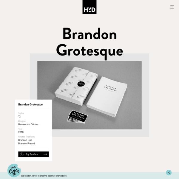 Brandon Grotesque   HvD Fonts