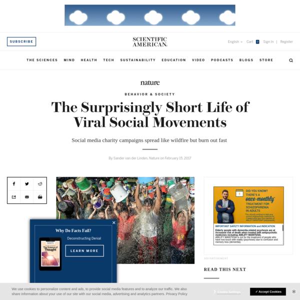 The Surprisingly Short Life of Viral Social Movements