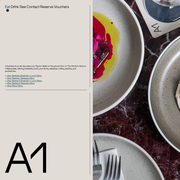 A1 Cafe City Sydney Eat-in & Takeaway Menu | A1 Canteen