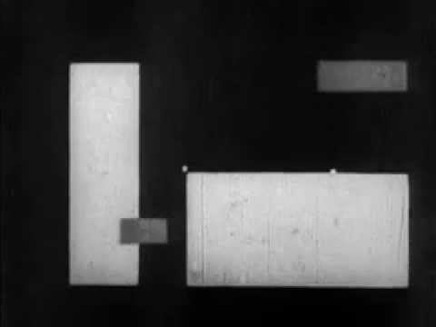 """Rhytmus 21"" 1921 Hans Richter Silent Short Film"