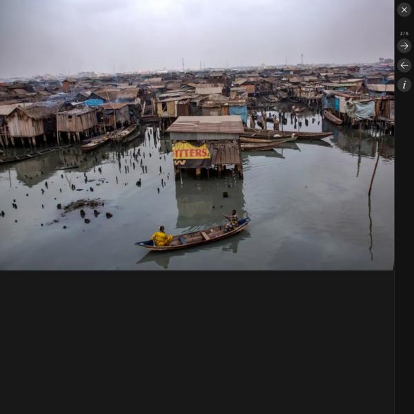 Inside Makoko: danger and ingenuity in the world's biggest floating slum