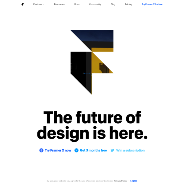 Framer is the only tool you need to create interactive designs for any platform. Powering the product teams at Dropbox, Pinterest, Twitter, and thousands more.