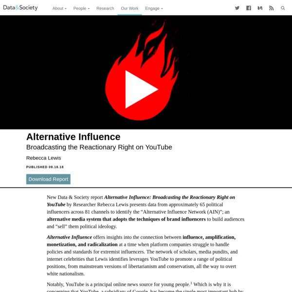 Alternative Influence