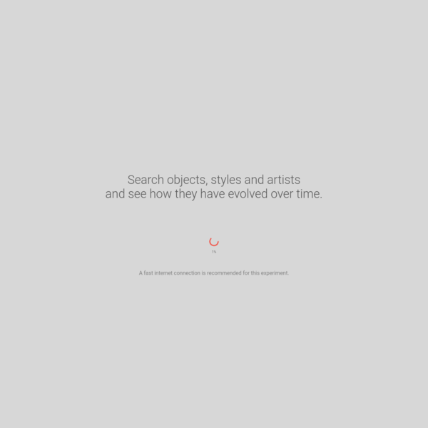 Search and display artworks in a new way inspired by art curators to discover unexpected, revelatory connections with Google Arts & Culture