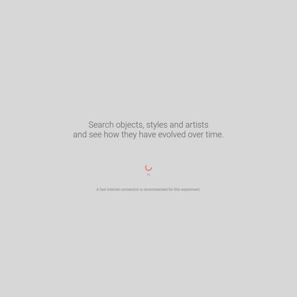 Google Arts & Culture Experiments - Curator Table Experiment