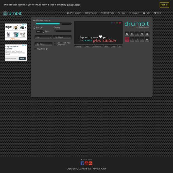 drumbit | online drum machine