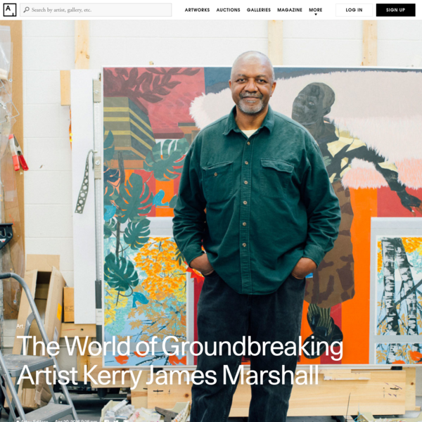 Yet to characterize Marshall as a poster child for African-American art is a disservice to the project of someone who has plumbed the depths of blackness and beauty, a long-neglected artistic subject, using the tools of , for nearly 40 years.