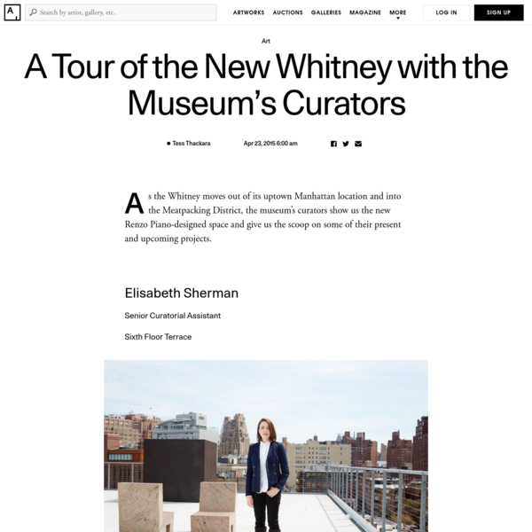 """""""The gallery spaces allow us a level of flexibility that we had to some degree in Breuer, but that we'll have much more of in the Piano building-the amount of column-free square footage that we have here is unprecedented. The way that everything was designed, from the ceiling grids to the flooring choices, allows us to really let artists run wild."""