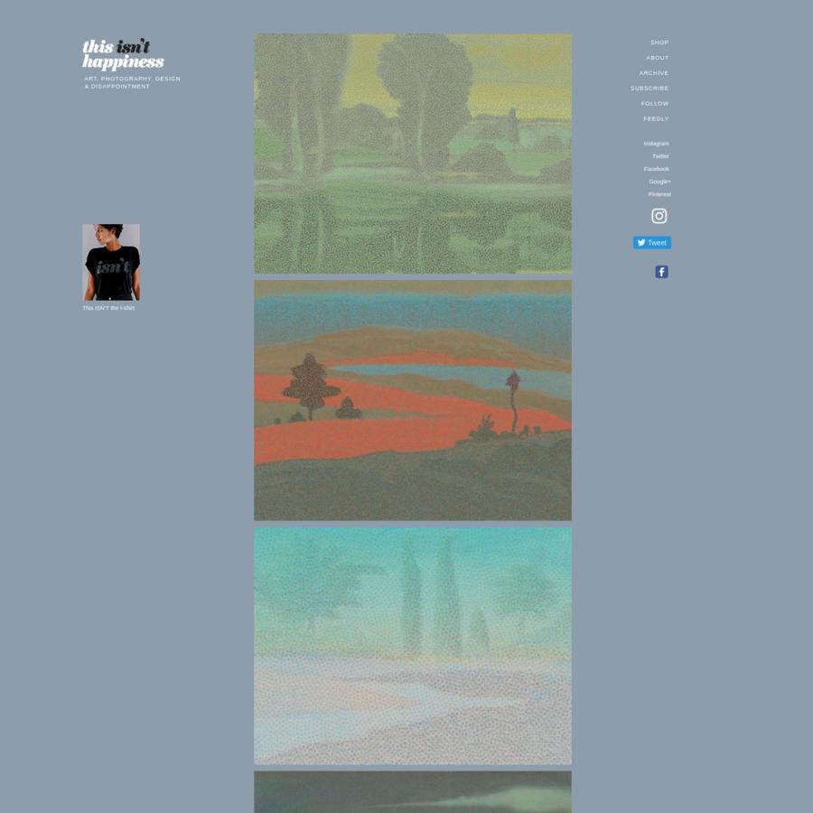 Landscapes, Milton Glaser
