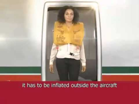 Inflight Safety Instruction of Royal Air Maroc