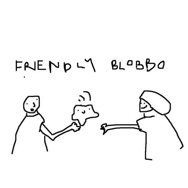 Friendly blobbo by my friendly blobbo Agnes