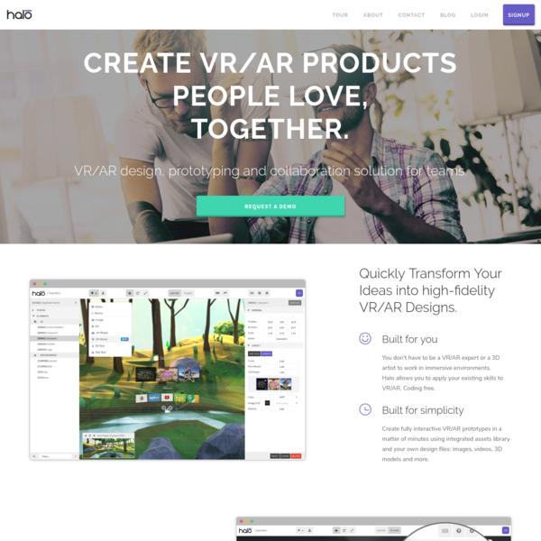 Halo Labs - The World's Best VR/AR Design Platform