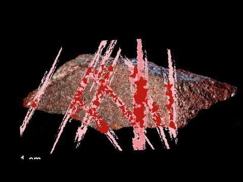Video including animation of the 3D photogrammetric model of the 73 000 years old drawing found during the excavation of Blombos Cave. Publication about it : An abstract drawing from the 73,000-year-old levels at Blombos Cave, South Africa. Christopher S. Henshilwood, Francesco D'Errico, Karen L. van Niekerk, Laure Dayet, Alain Queffelec & Luca Pollarolo.