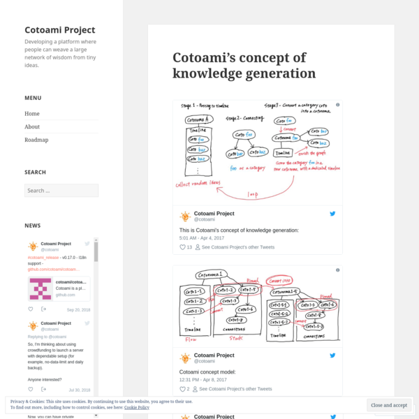Cotoami's concept of knowledge generation