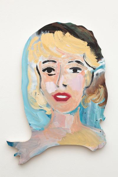 Becky Kolsrud, Double Portrait (Blonde), 2018