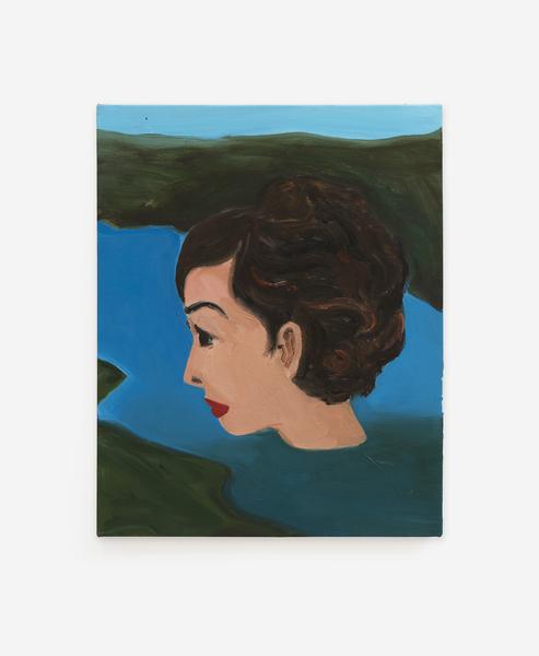 Becky Kolsrud, Floating Head (Study), 2018