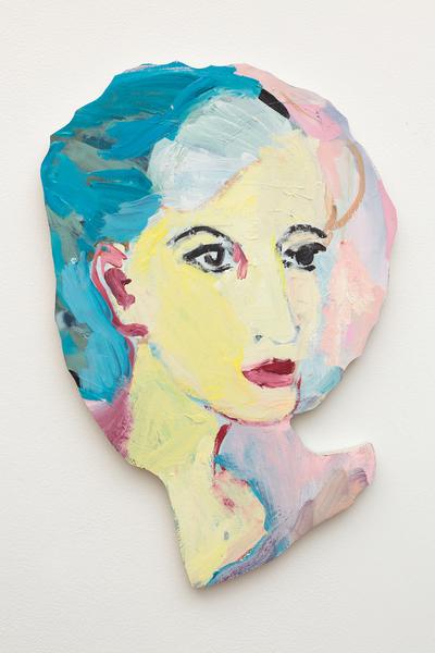 Becky Kolsrud, Double Portrait (Yellow), 2018