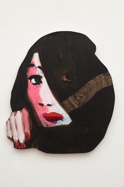 Becky Kolsrud, Double Portrait (Veiled), 2018