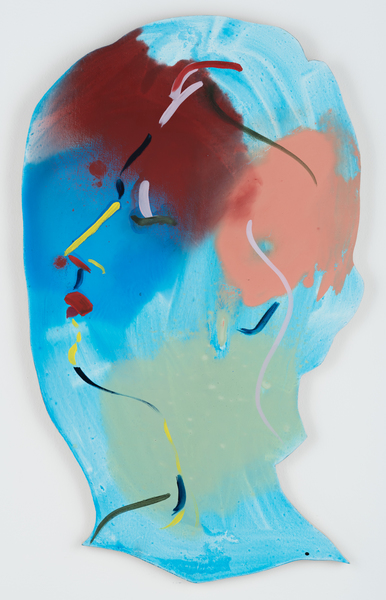 Becky Kolsrud, Double Portrait (Outline), 2017