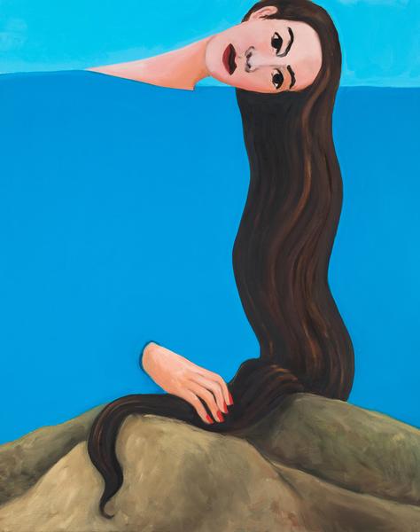 Becky Kolsrud, Allegorical Nude (Low Mountain), 2018