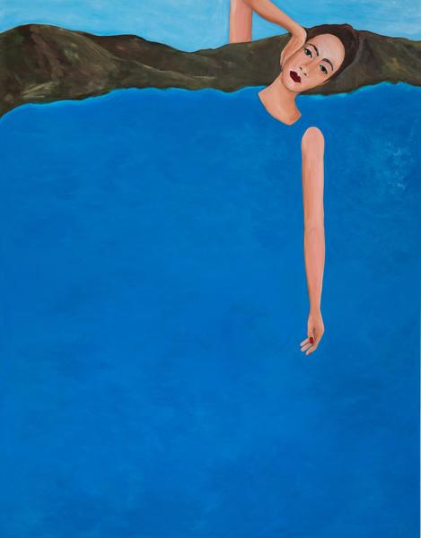Becky Kolsrud, Allegorical Nude (Recline), 2018