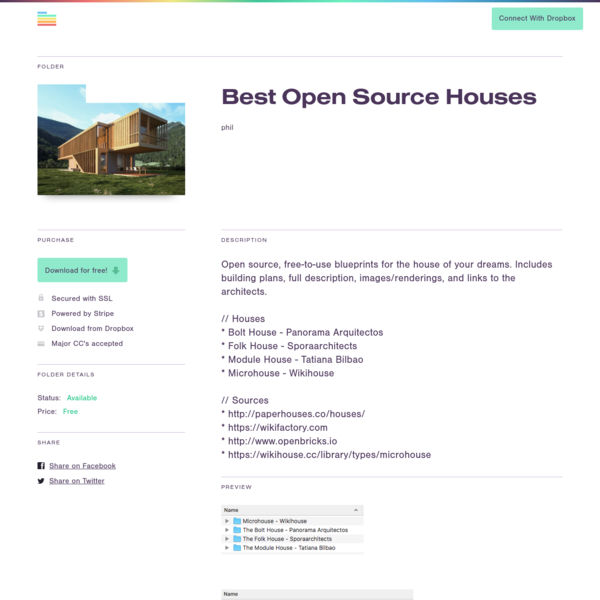 Best Open Source Houses | Folder Market