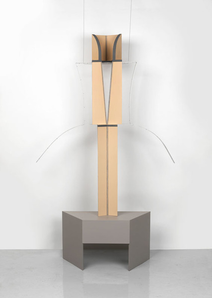 Diane Simpson, Neckline (extended), 2011