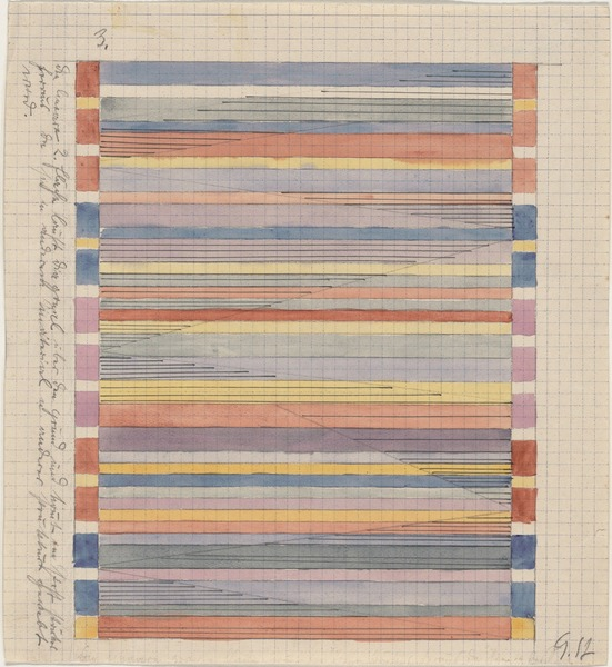 Gunta Stölzl, Design for Textile, 1920-24