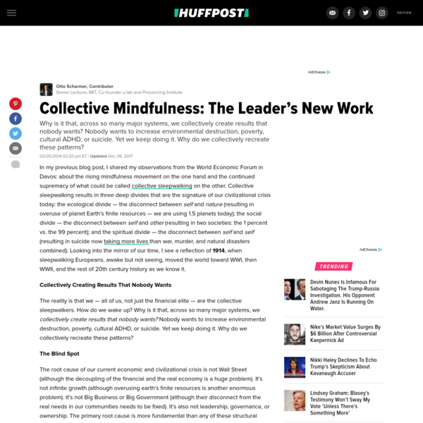Collective Mindfulness: The Leader's New Work