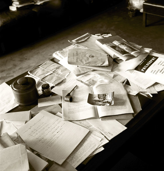 Albert Einstein's Desk