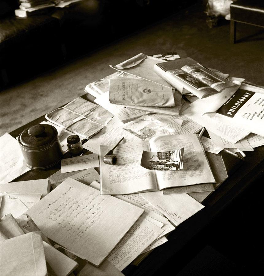 Albert Einstein's Desk