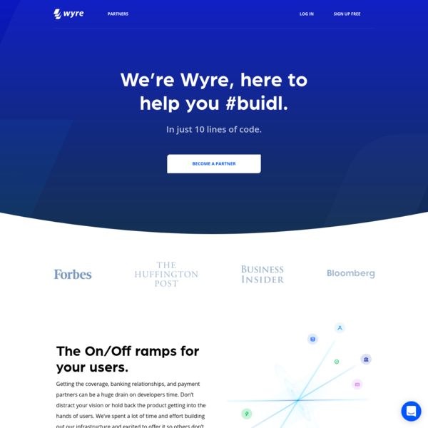 Wyre is a secure and compliant bridge between fiat currencies and cryptocurrency. Exchange crypto safely and securely.