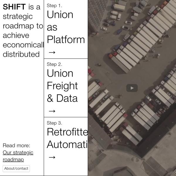 shift - strategic roadmap