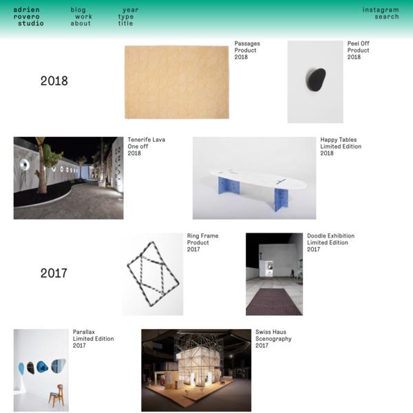 Adrien Rovero Studio
