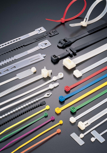various nylon cable ties