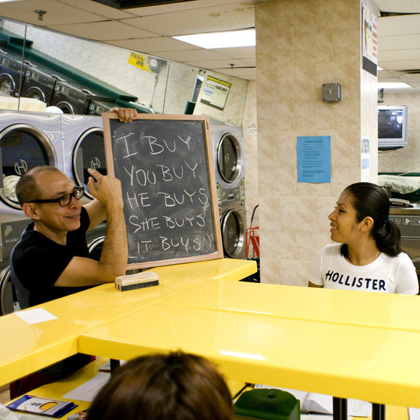 53. The Laundromat as a Site for Building Community Networks