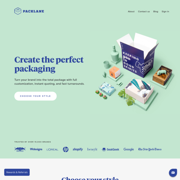 Design Your Own Custom Boxes and Packaging   Packlane