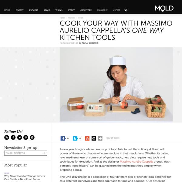 Cook Your Way With Massimo Aurelio Cappella's One Way Kitchen Tools