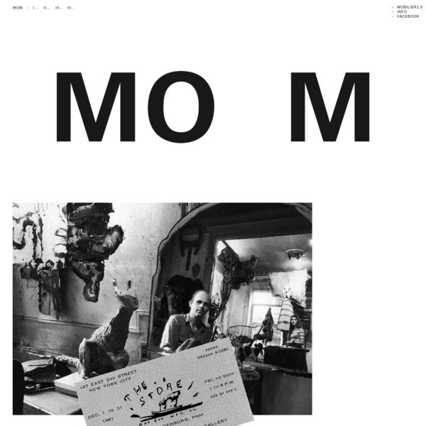 Museum Of Museum. MoM a pour volonté d'établir un questionnement lié au white cube, à son usage, sa remise en cause par les artistes et curateurs, ainsi qu'une réflexion pédagogique concernant le dispositif muséal et la manière dont il est abordé par des spectateurs non initiés à l'art contemporain.