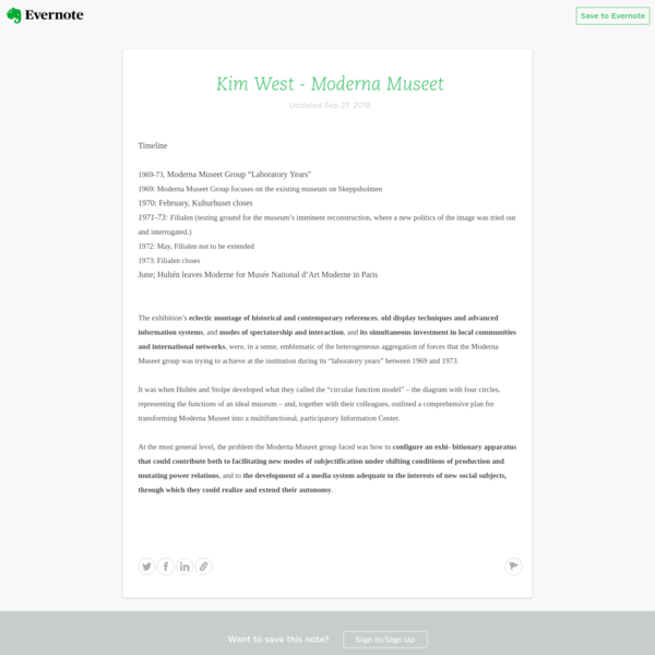 Evernote Viewer