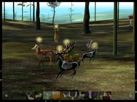 "Just some random footage from the virtual forest! Game: ""The Endless Forest"" by Tale of Tales - http://www.tale-of-tales.com/TheEndlessForest/index.html"