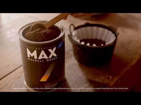 Introducing MAX by Maxwell House: Boost