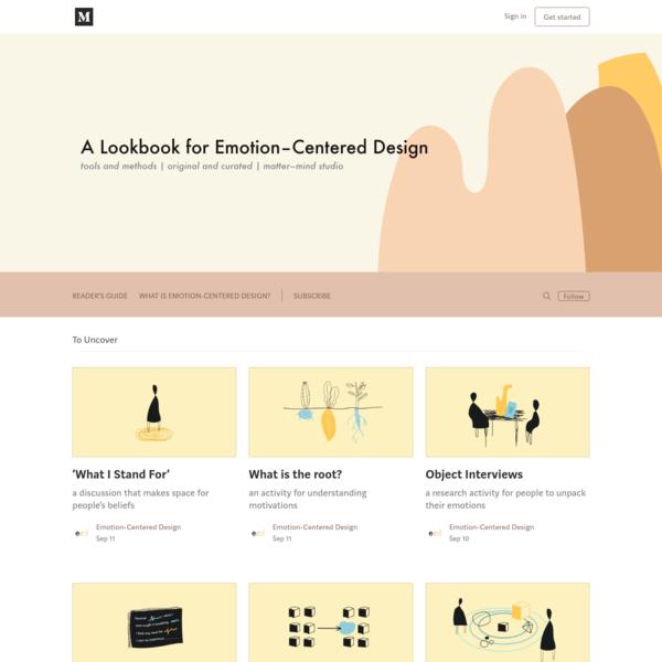 A Lookbook for Emotion-Centered Design - Medium