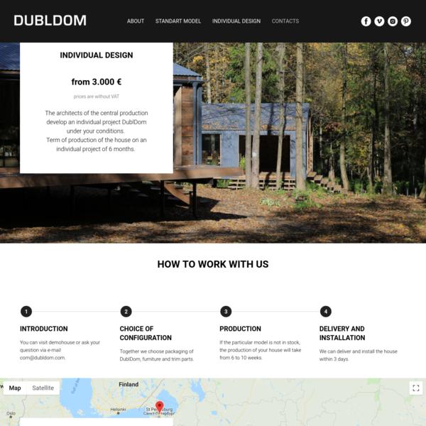 DublDom /Modular houses / Europe