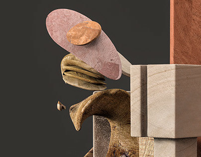 LIGNUM is the result of the research, adaptation, creative work, and experimentation about cubism , architecture and anatomy creating different pieces that converge in 3d sculptures.